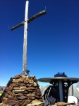 Gipfelkreuz Rote Wand, 2.817 m