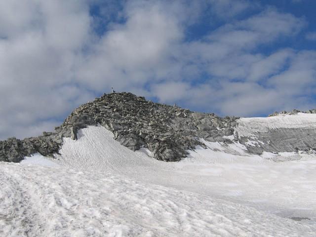 Gipfel Schwarzenstein im Tauferer Ahrntal
