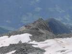 Ausblick Schwarzenstein auf die Schwarzensteinhütte