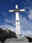 Gipfelkreuz Schwarzenstein 3.368 m