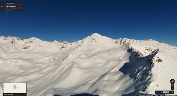 Hoher Mann 360° Gipfelblick Google Maps