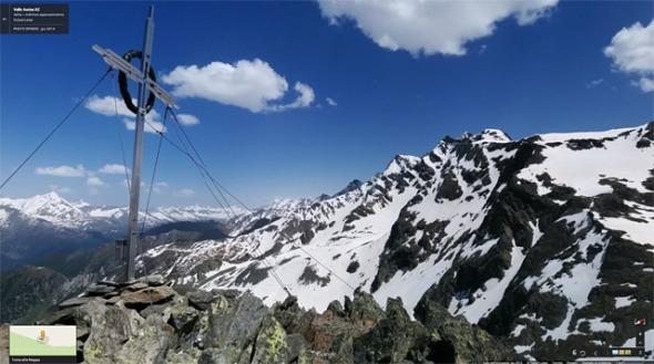 Gipfelkreuz Rauchkofel, Klausberg Tauferer Ahrntal
