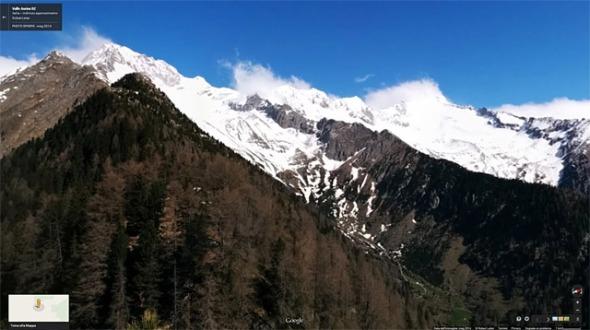 Wolfskofel 360° Gipfelblick Google Maps