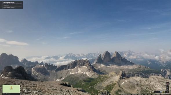 Gipfelausblick Schusterplatte Sextner Dolomiten
