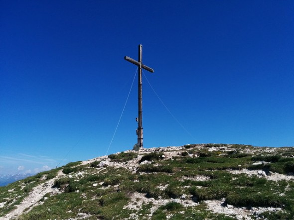 Piz da Peres-Gipfel im Kronplatzgebiet