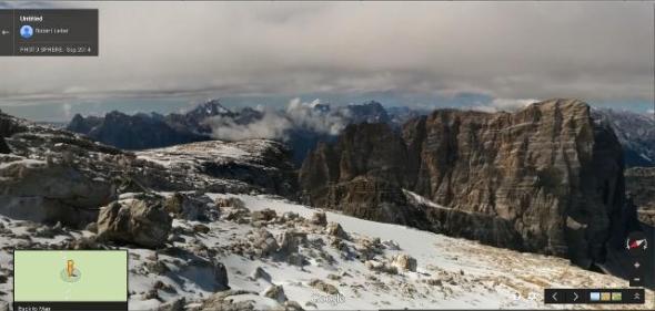 360° Gipfelausblick Hochbrunner Schneid, Sextner Dolomiten