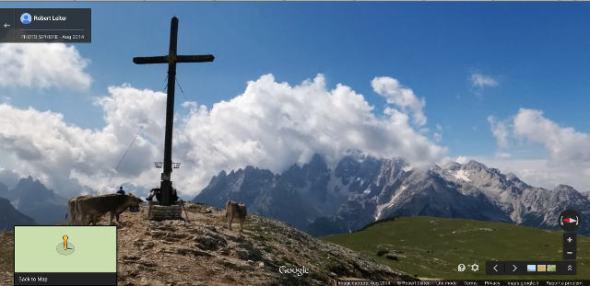 360° Panorama-Ausblick Strudelkopf Pragser Dolomiten