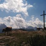 Gipfelkreuz Strudelkopf, Plätzwiese, Pragser Dolomiten