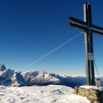 Gipfelkreuz Hornisch-Eck, Sextner Dolomiten