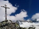 Gipfelkreuz Kreuzkofel Tauferer Ahrntal
