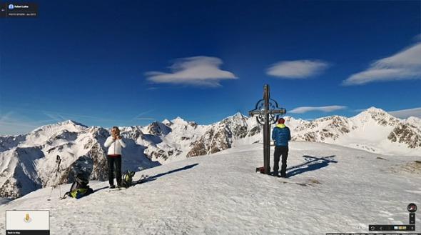 360° Gipfelausblick Terner Jöchl, Am Joch