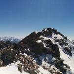 Gipfelblick auf den Schönbichl, Kronplatzgebiet