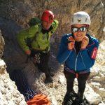 Einstieg Große Zinne, Drei Zinnen Sextner Dolomiten